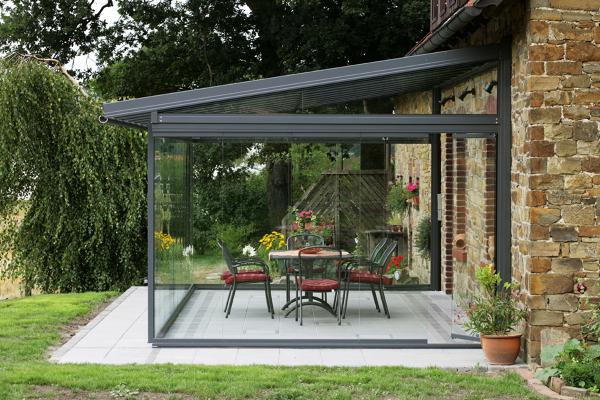 Foto terraza cristal de miriam mart 794185 habitissimo - Como cubrir una terraza ...