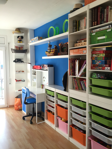 Foto: trofast de ikea en dormitorio infantil de maribel martínez ...