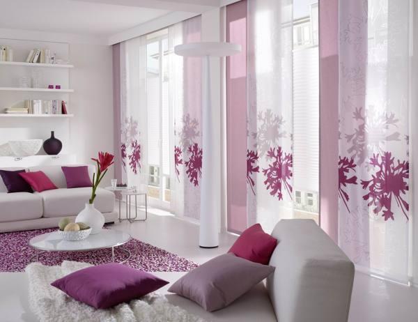 Foto paneles japoneses con cortinas tradicionales de rox comunicaci n 859335 habitissimo - Cortinas y paneles japoneses ...