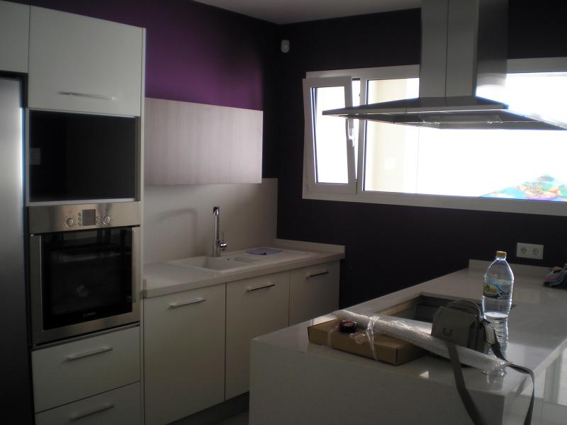 Foto vista 2 interior cocina fase acabado final de - Cocinas tello ...