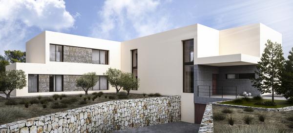 Foto vista fachada acceso de 4m arquitectos 683738 - Listado arquitectos valencia ...