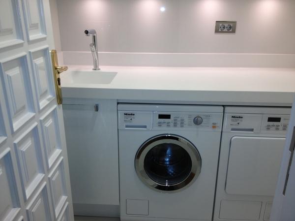 Foto vista lavadero construido en un pasillo de la for Lavadero exterior