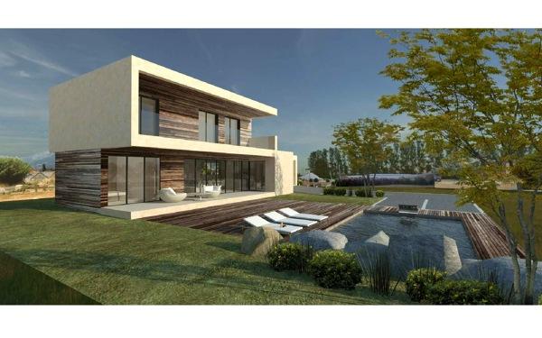 Foto vivenda modular de 200m2 de acero modular s l - Viviendas modulares prefabricadas ...