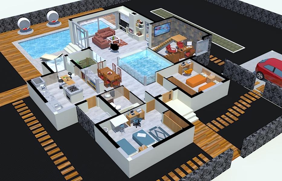 Foto vivienda unifamiliar en maguez planta baja for Planos de casas 8x15