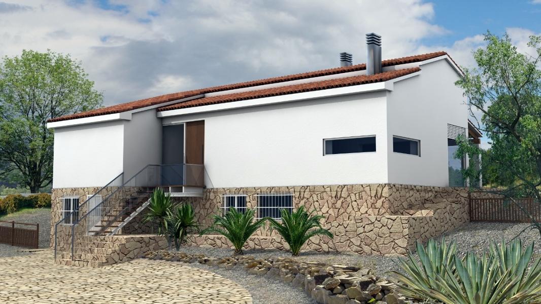 Foto vivienda unifamiliar en teulada moraira alicante de - Reformas integrales alicante ...