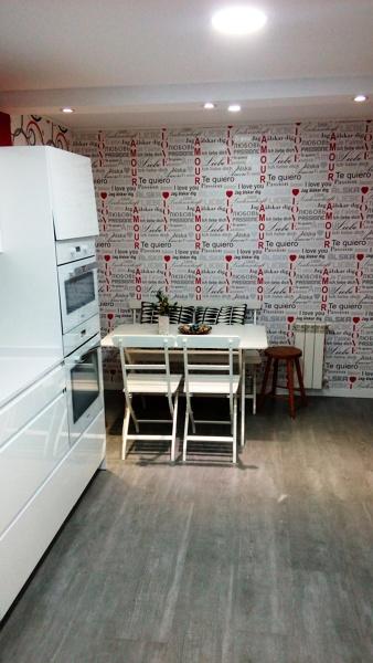Foto zona office con papel pintado de perez y del val - Papel pintado coruna ...
