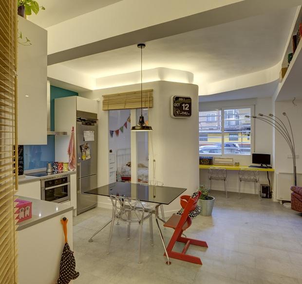 Reforma de piso de 45 m2 ideas arquitectos - Reformas pisos pequenos ...