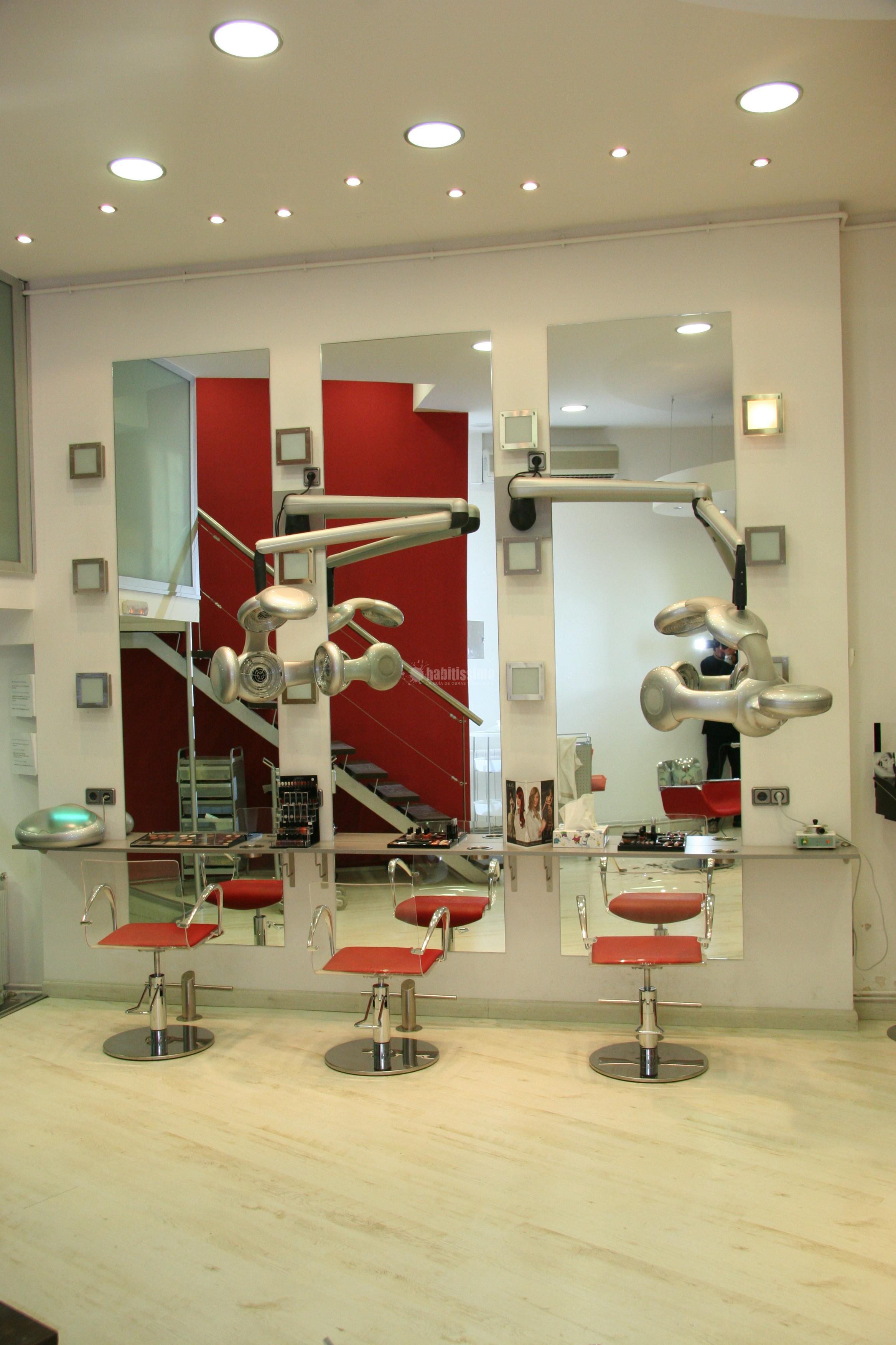 interiorismo peluqueria: