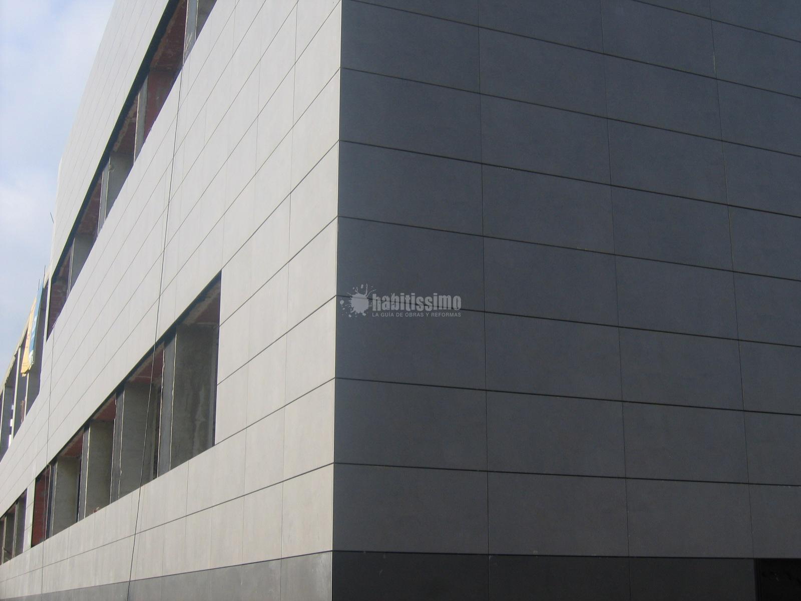 Fachadas cer micas fachada ventilada en paterna ideas - Precio fachada ventilada ...