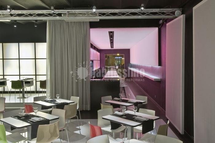 Reforma e interiorismo restaurante ideas decoradores for Ideas interiorismo