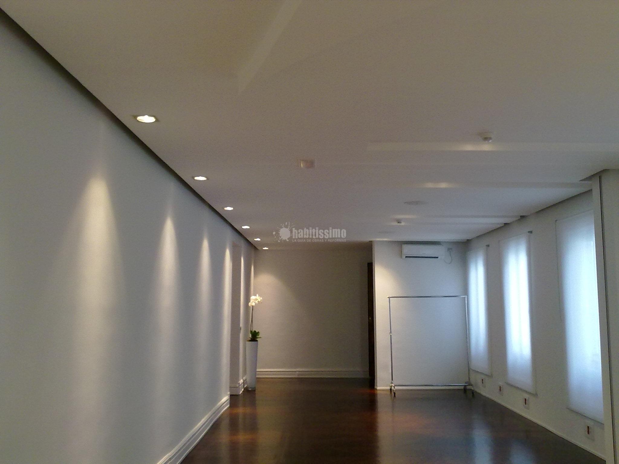 Proyecto de reforma de techos y suministro de iluminaci n - Lamparas techos altos ...