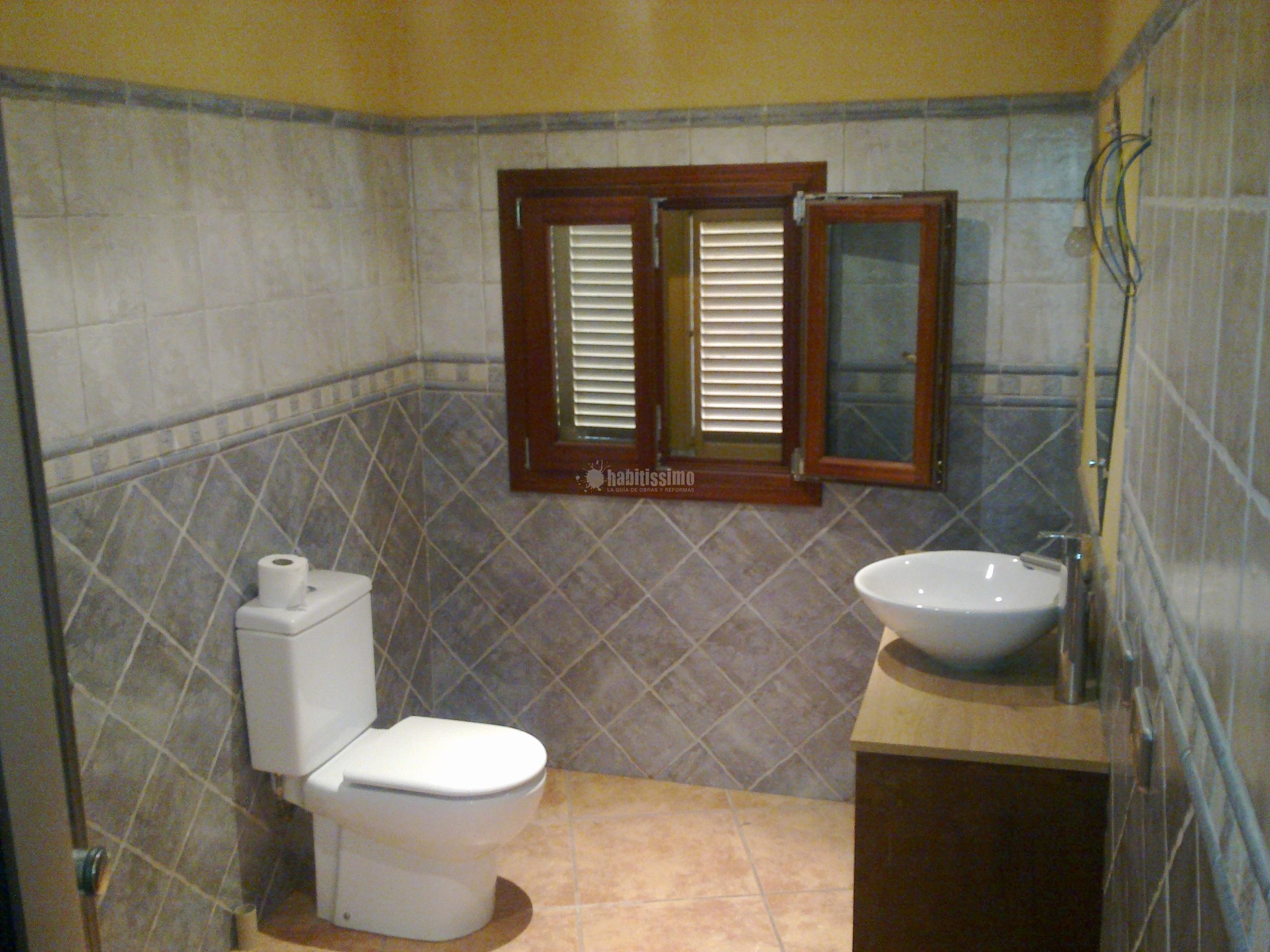 Reformas Baños Huelva:Alicatado y Solado de Baño