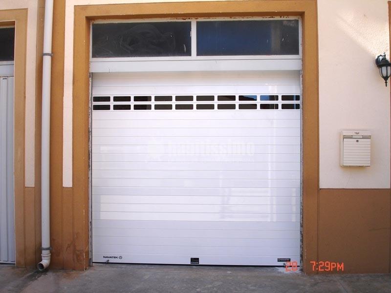 Sustituci n de puerta de garaje por persiana aluminio for Puertas galvanizadas