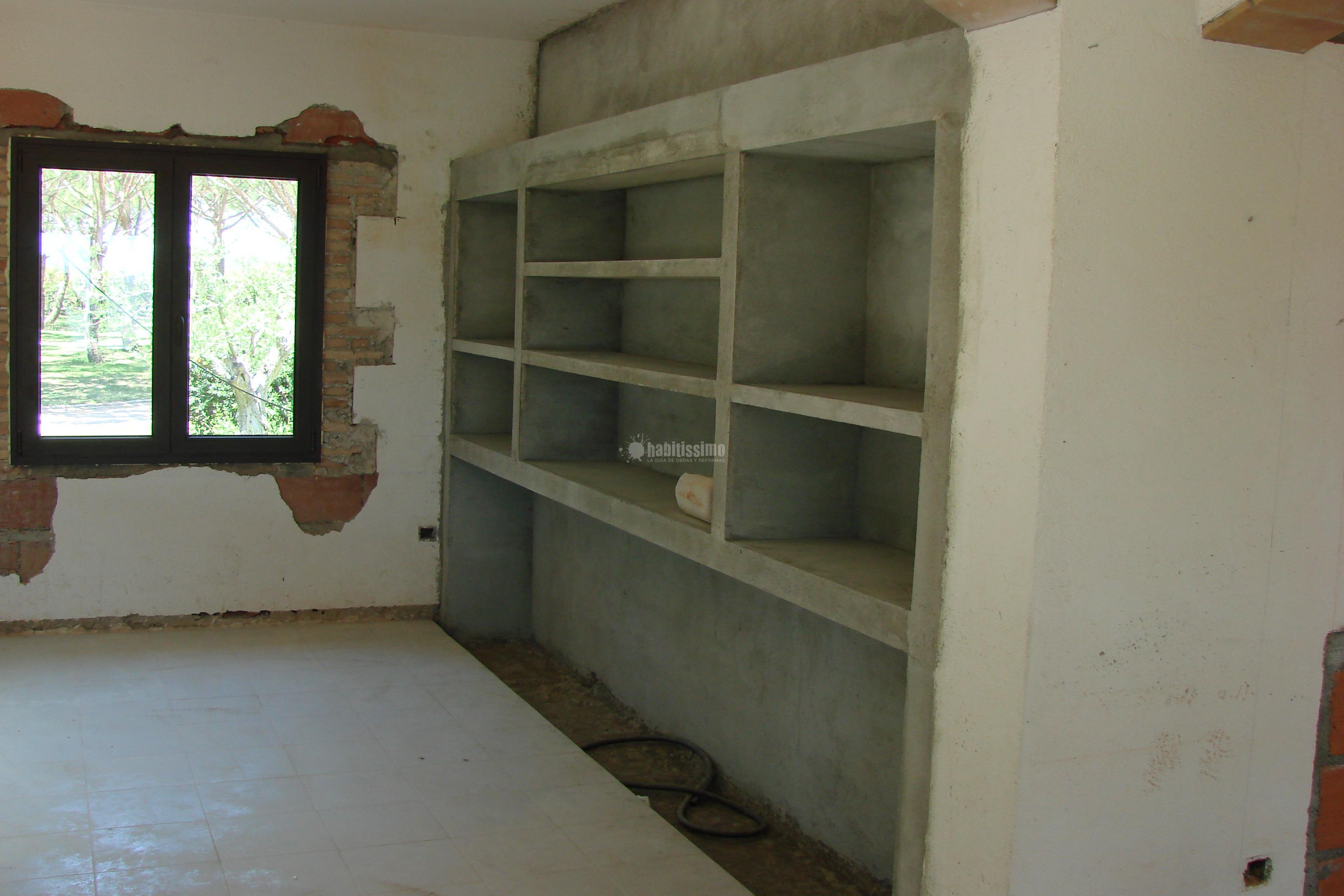 Cemento pulido a casa a l 39 empord proyectos alba iles - Banos de cemento pulido ...