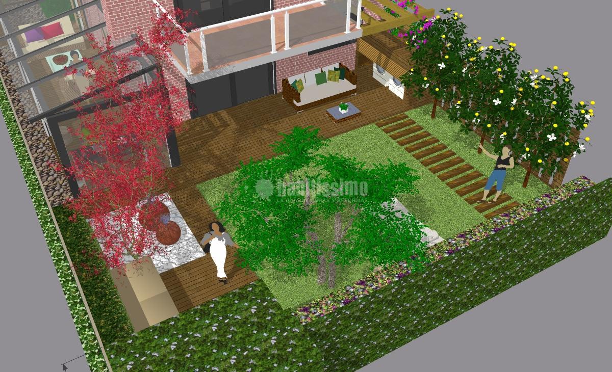 Remodelaci n de un jard n ideas muebles for Remodelacion de jardines