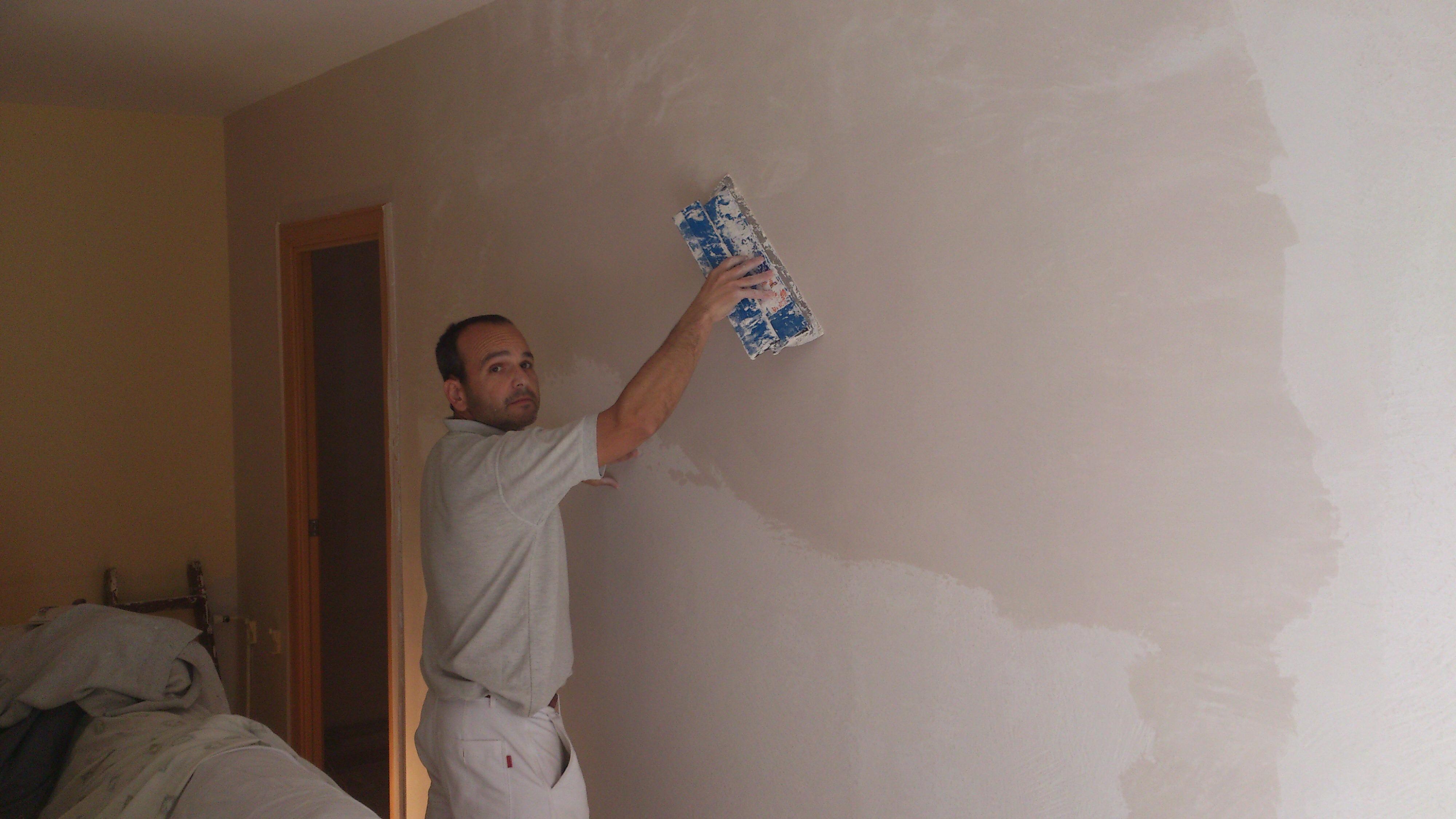 Quitar gotele alisado de paredes y pintado ideas pintores - Pintores de paredes ...
