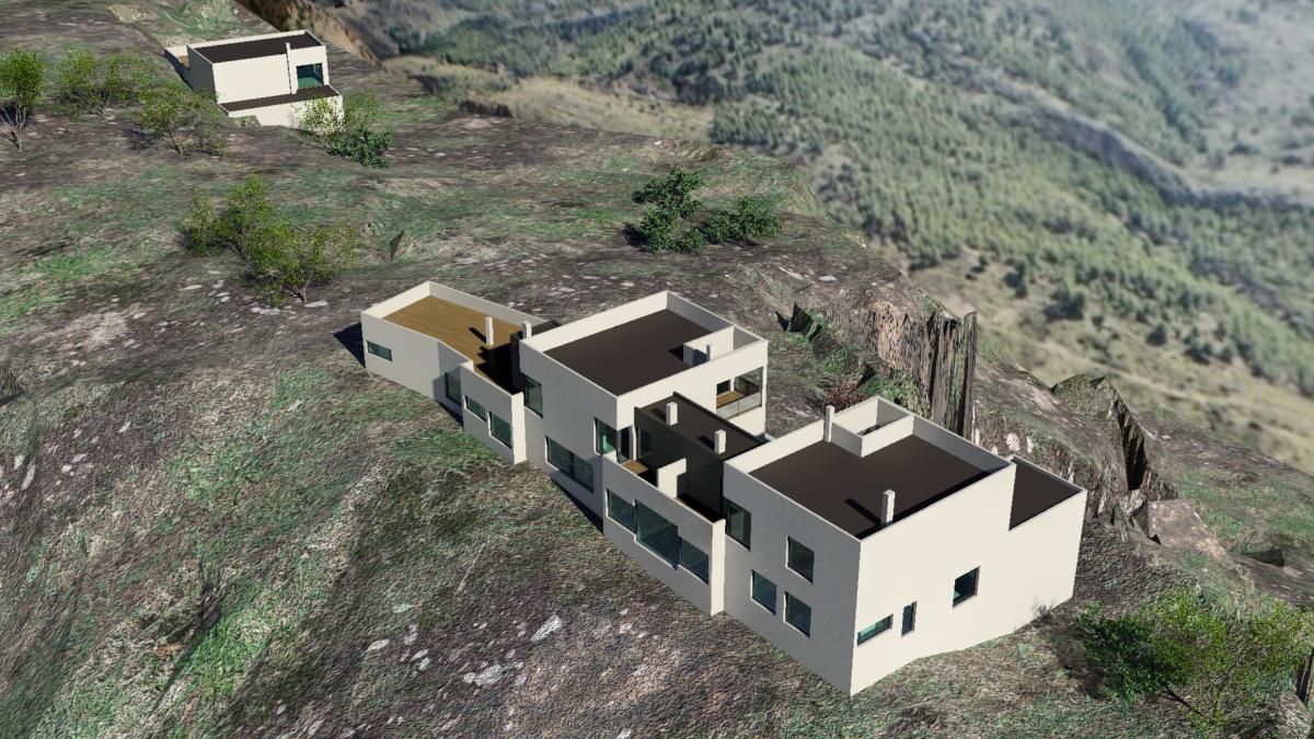 Casa rural con 3 viviendas ideas arquitectos - Vivienda en almeria ...