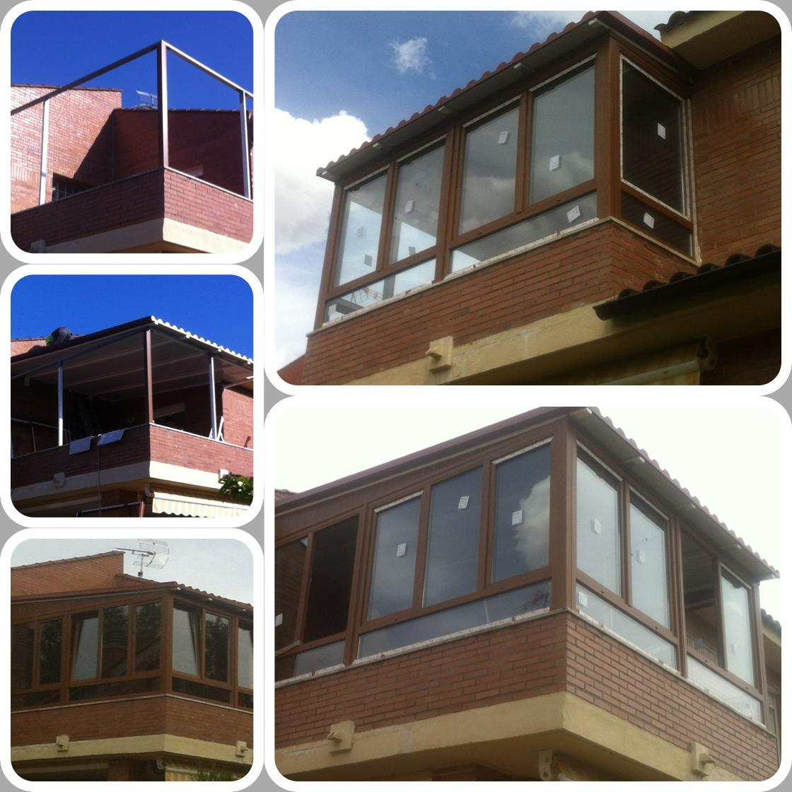 Cerramiento terraza con cubierta panel sandwich ideas for Cerramiento aluminio terraza