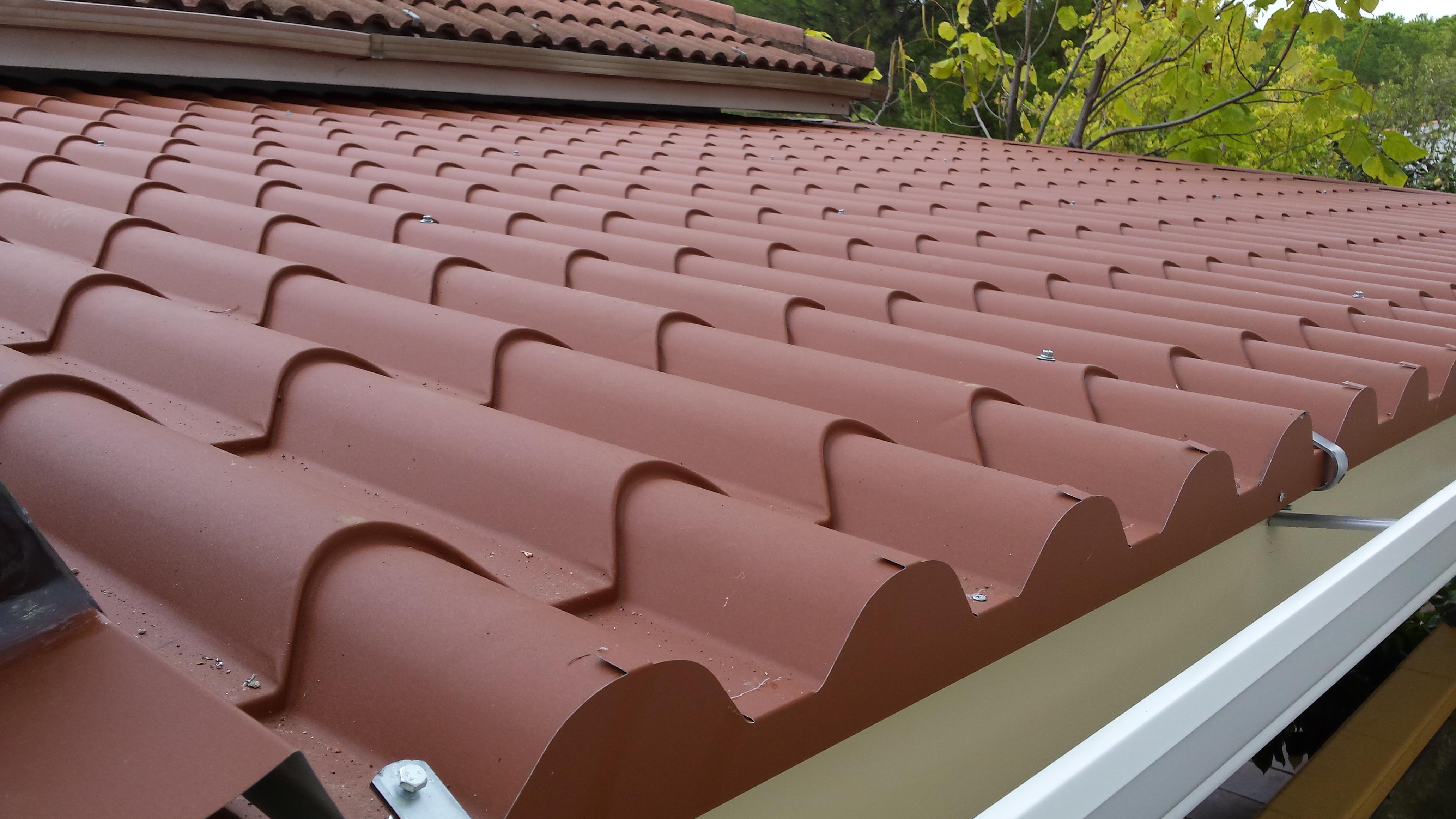 techos imitacion tejas perfect diseo en forma de teja u