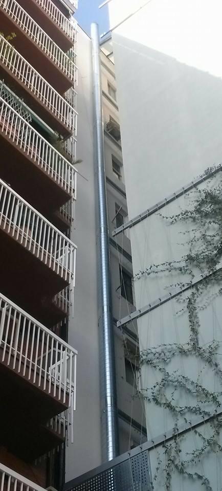 Chimenea shunt en barcelona proyectos chimeneas - Chimeneas barcelona ...
