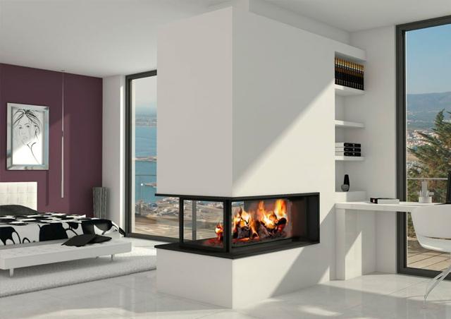 Chimeneas de le a calor en tu hogar ideas chimeneas - Imagenes de chimeneas de lena ...