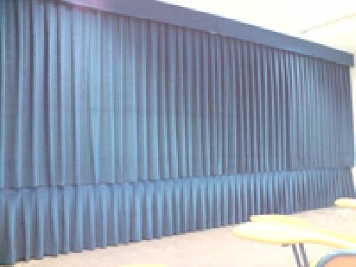Cortinas tel n escenario ideas art culos decoraci n - Cortinas para escenarios ...