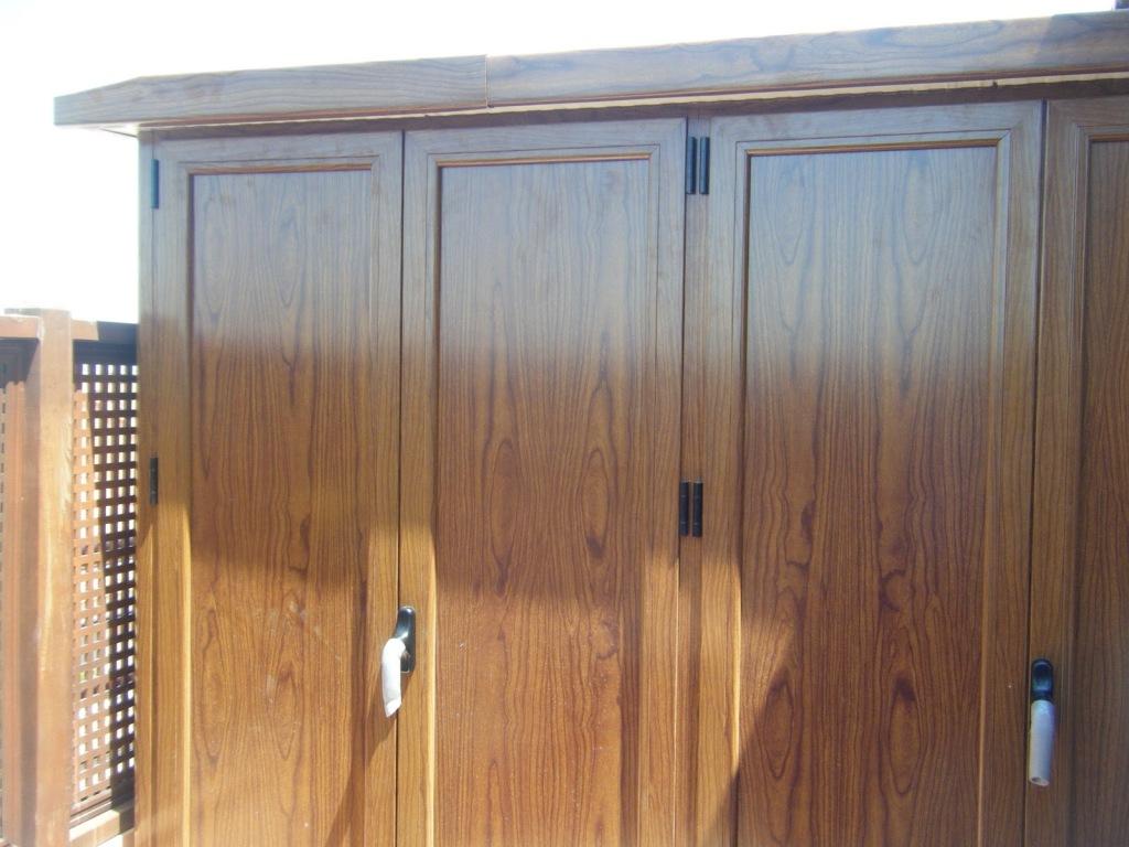 Consejos para elegir un armario para la terraza ideas for Armario para patio