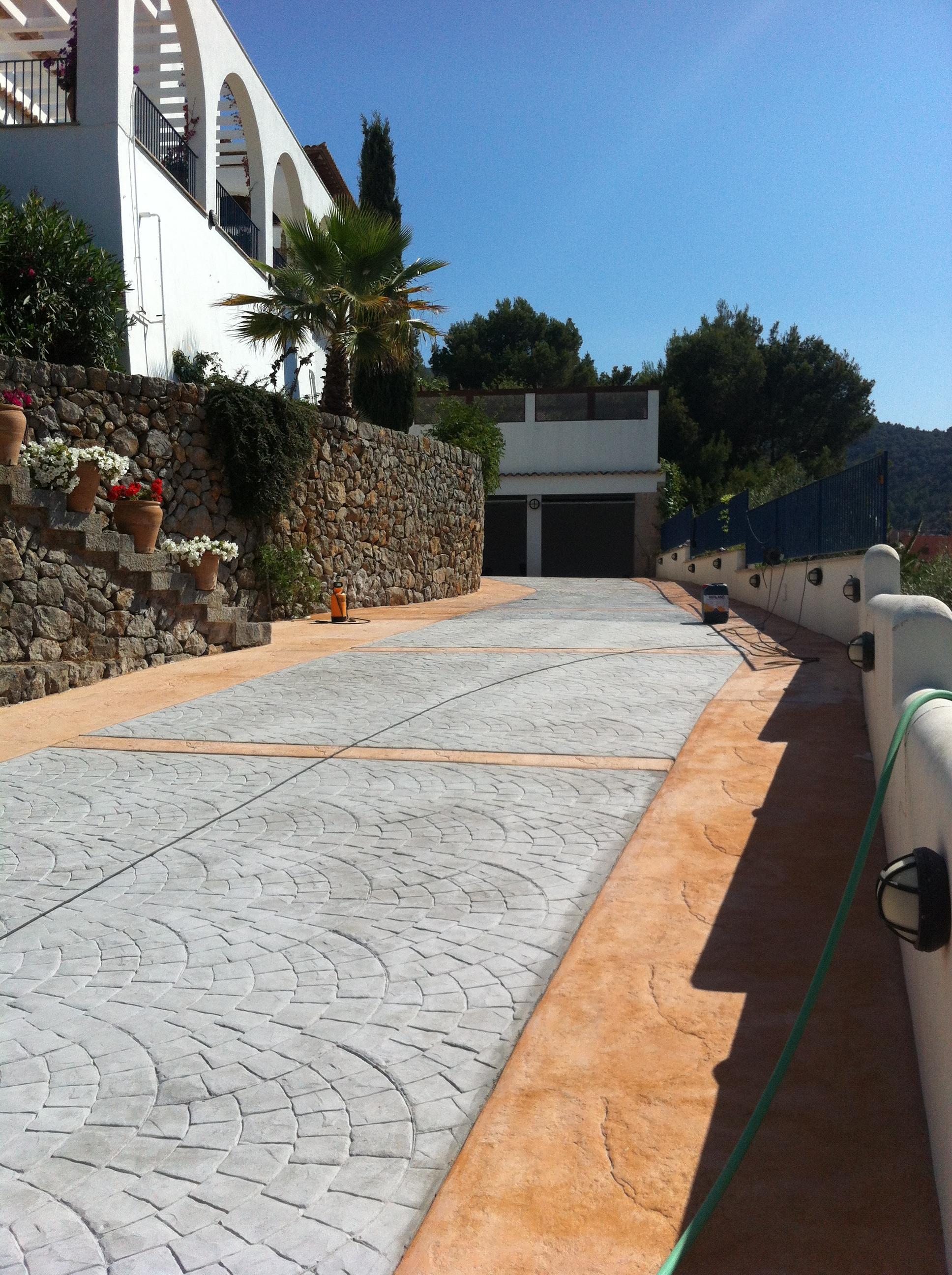 Hormigon Estampado Mallorca. Com Hormigon Impreso Servicios Hormigon ...