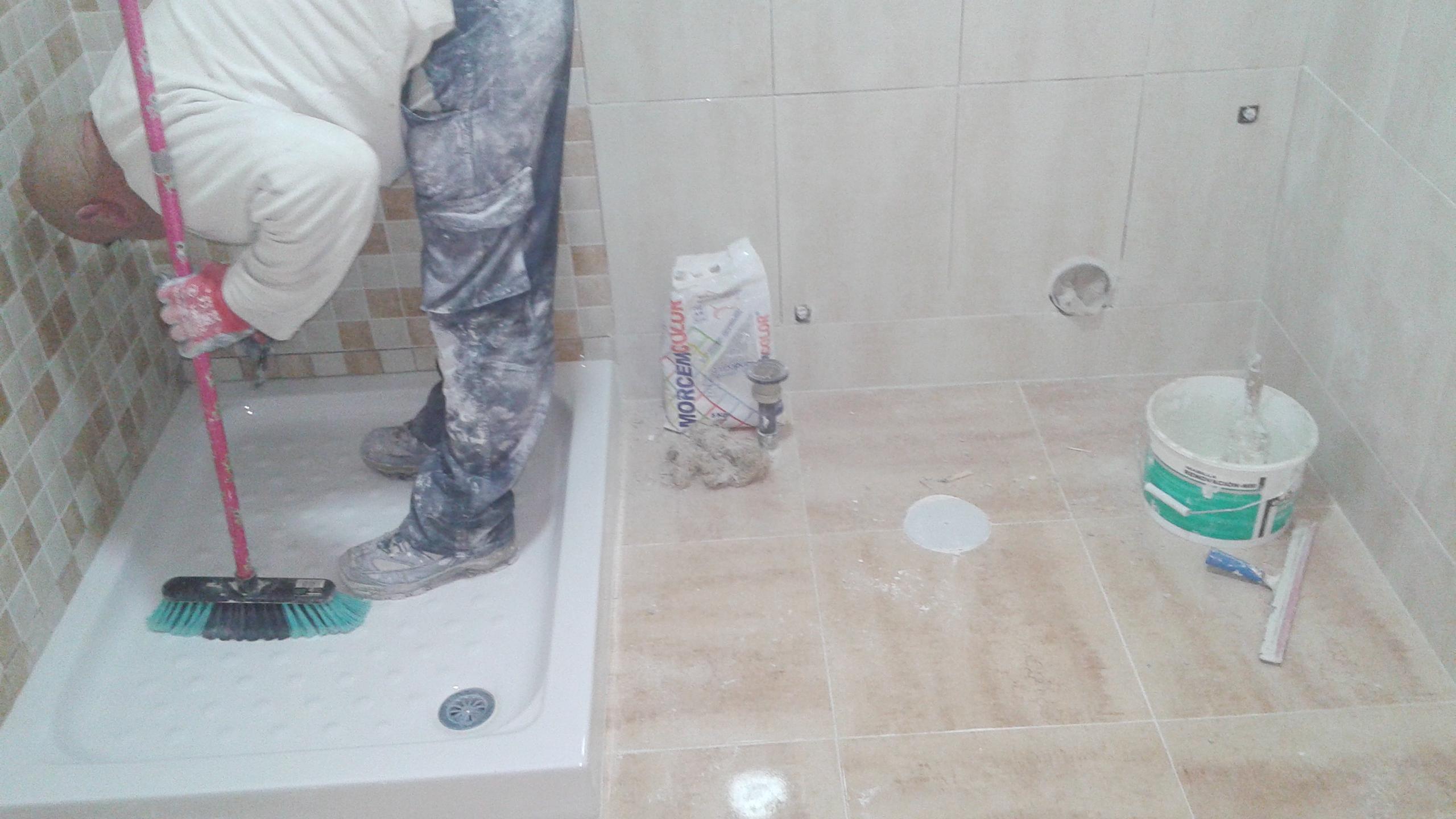 Reforma de cuarto de baño, Malaga. | Instalaciones y ...