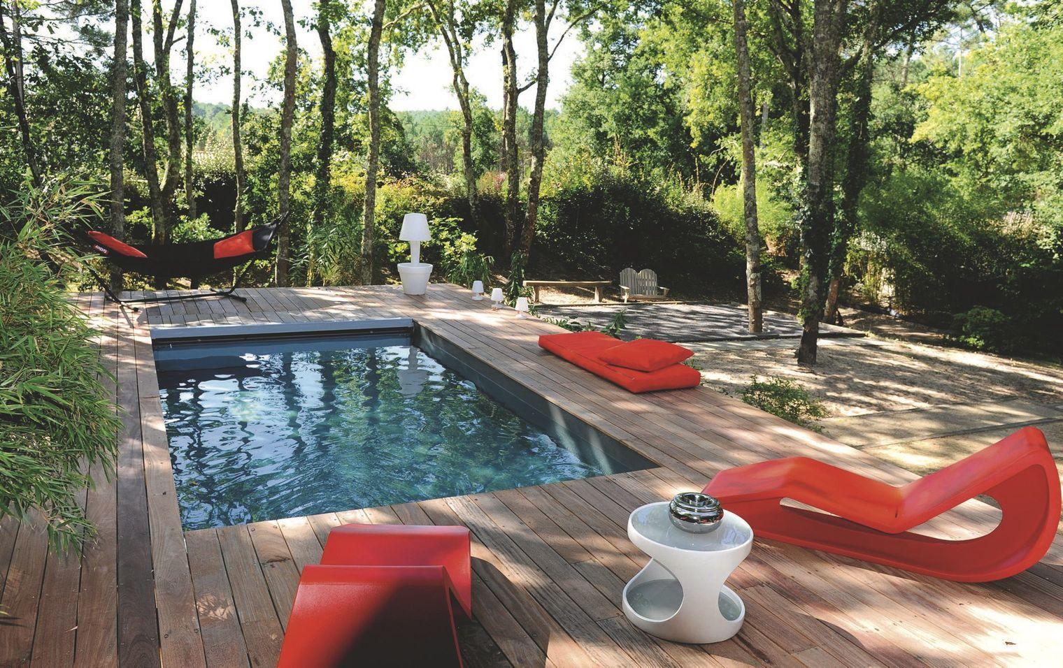 Las mejores terrazas con piscina del verano ideas for Piscinas prefabricadas pequenas