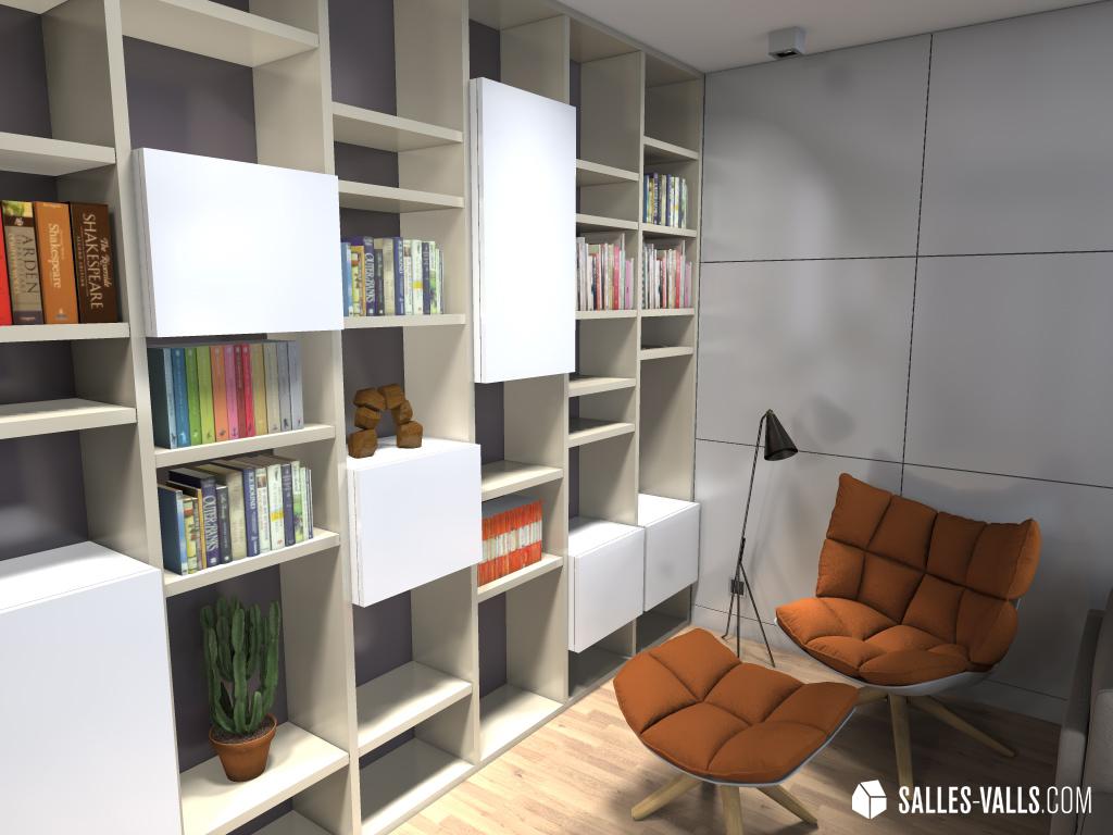 Ideas Reformas La Reforma De Un Piso Funcional Y De Estilo  # Mofexsa Muebles Oficina