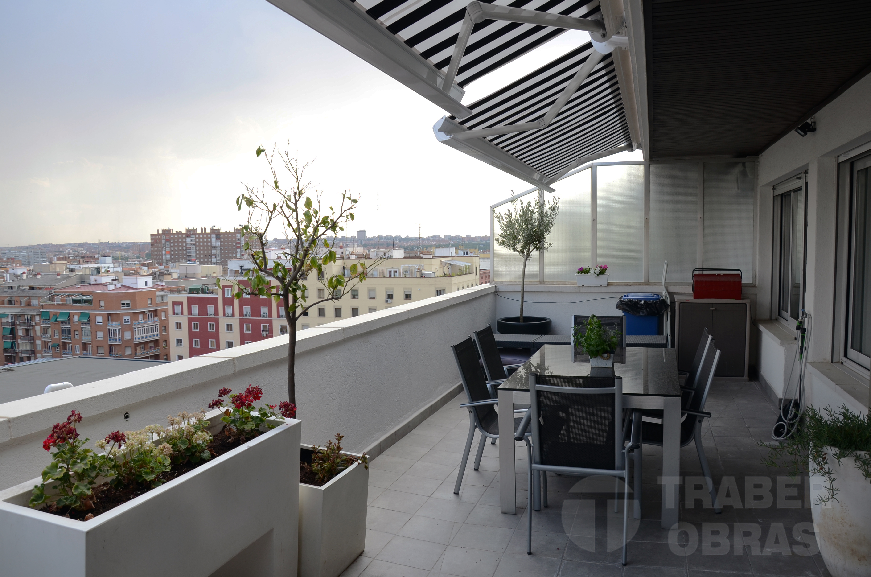 Renovando Un Atico Duplex En Barrio Arganzuela De Madrid Traber