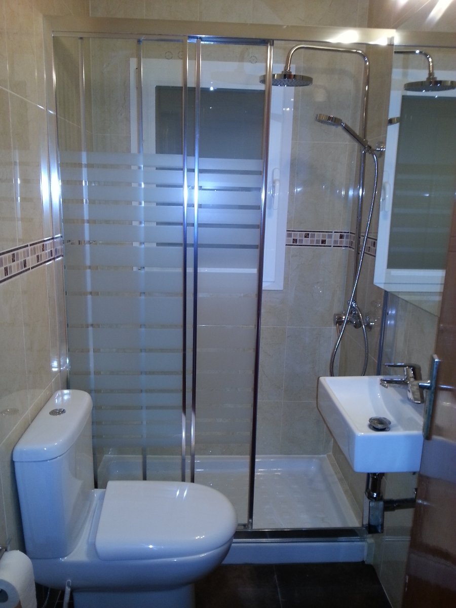 Baño Pequeno Original:Reforma de Baño Pequeño en Palma