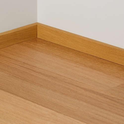 C mo colocar un z calo de madera ideas mantenimiento - Zocalos para paredes ...