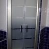 Revestimiento de baño azul