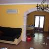 Pintado de piso y colocación de cortinas