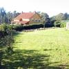 Medir parcela con vivienda pareada dentro del terreno