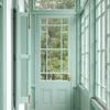 ventana turquesa
