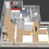 3d de la vivienda terminada