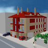 3D Edificio Pirineos.