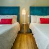 Ambiente dormitorio doble de frente