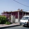 (antes) fase de construcción de Chalets