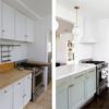 Antes y después de reformar cocina
