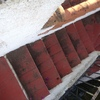 Antigua escalera.terraza antes de la reforma