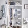 Foto: armario con cestas organización