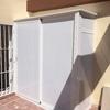 Armario de aluminio para terraza