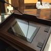Atril con monitor