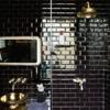 baño con alicato negro