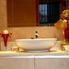 baño con microcemento