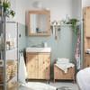 Baño decorado con piezas de Ikea